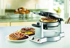 Professional Nonstick 2 Belgian Waffle Maker Cuisinart Iron Gourmet Baker 1400W!