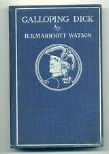 1896 GALLOPING DICK, H.B. Marriott Watson, Stone & Kimball, Arts & Crafts design