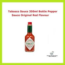Tabasco Sauce 350ml Bottle Pepper Sauce Original Red Flavour McIlhenny Co