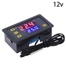 Digital LED Temperature Controller Thermostat Control Switch Probe Waterproof