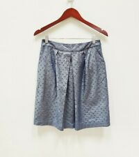 Boden| Limited Edition Gray Metallic Skirt Size 4