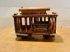 Spieluhr Straßenbahn Cable Car San Francisco - Holzmodell (2)