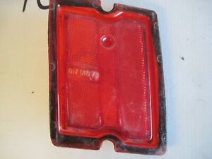 73 74 1973 1974 Chevrolet Chevelle Malibu Right Rear Side Marker Light Lens