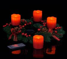 Adventskranz mit Echtwachskerzen Weihnachtskranz Kranz