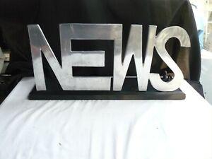 SUPPORT PUBLICITAIRE CIGARETTES NEWS