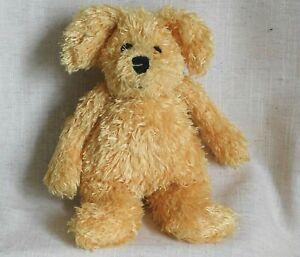 Jellycat Bunglie Dog J658 Scruffy Golden Yellow Puppy Dog Rare