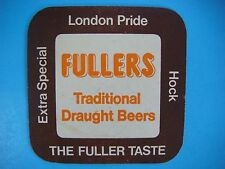 Beer Coaster: Fullers Traditional Draught Beers - Extra Special - London Pride