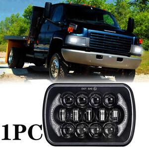 "5x7"" 7x6"" LED Headlight Hi-Lo Beam DRL For GMC C4500/C5500/C6500 TopKick Truck"