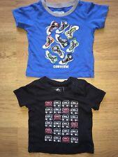 Baby boy 2 T-shirts age 6-9 months CONVERSE, FIRETRAP