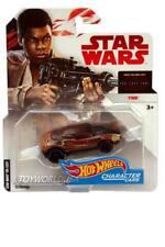 2017 Hot Wheels Star Wars Character Cars The Last Jedi Finn