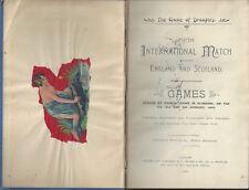 International Draught Match between England & Scotland 5th 1910 A Bryson & co
