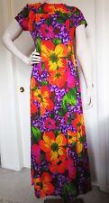 Hawaiian Mou Mou Dress Multi-colored Medium