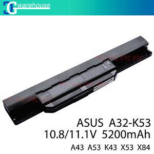 NEW Laptop Battery For ASUS X53E X53Q X53S X53Sa X53Sc X54C A32-K53 A41-K53