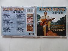 CD Album HANK SNOW I'm movin' on PLATCD 928 Country