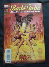 BARBI TWINS ADVENTURES (TOPPS) (RAZOR) (PETER HSU) #1 Very Good Comics Book