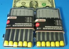 SLOT CAR Precision 6 Screwdriver Set  X 2  YOUR TOOL BOX OR PIT CASE NEEDS THESE