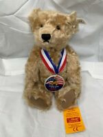 Steiff Sam Teddy Bear 28 USA Club Only Premiere Edition 100% MOHAIR