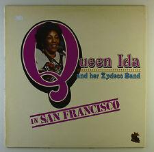 "12"" LP-Queen IDA AND HER reagisce band a San Francisco-l4765"