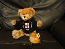 SOFT PLUSH JOINTED SANDY TEDDY BEAR TOY ROTARY CLUB 2008 BY CHANNEL ISLAND TOYS