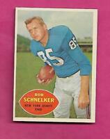 1960 TOPPS # 76 GIANTS BOB SCHNELKER NRMT CARD (INV# C0490)