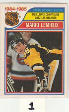 1985 85-86 O-Pee-Chee #262 Mario Lemieux LL NM Near Mint OPC RC-year