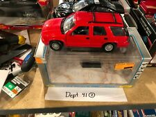 Z Wheels GMC Jimmy Red 1:24 Scale Diecast Collectible Model Pickup Truck