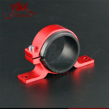 Fuel pump mount mounting bracket clamp cradle fuel pump clamp red