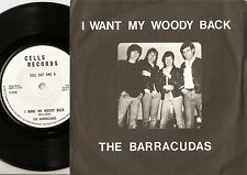 THE BARRACUDAS I WANT MY WOODY BACK & SUBWAY SURFIN 45+PS 1979 MOD SURF REVIVAL