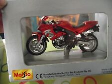 Maisto 06186 Triumph Daytona 675 Diecast Modelo Bicicleta De Deportes Rojo/Negro 1:18th