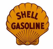 Shell Gasoline Porcelain Advertising Sign