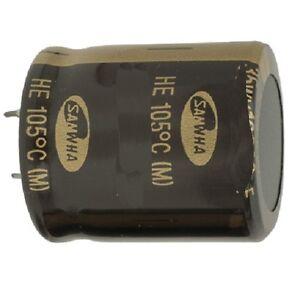 Electrolytic Capacitor Low Profile Snap-in 105 Deg.C 4700uf 50v Condenser