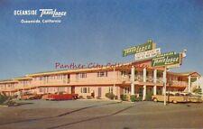 Vintage Postcard TraveLodge Motel Oceanside California CA PC