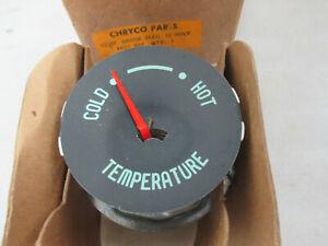 Mopar NOS 1956 Plymouth Savoy Belvedere Fury Temperature Gauge 1627497