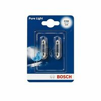 BOSCH Original Quality Number Plate Bulb / Interior Bulb 239 C5W 12V - TWIN PACK