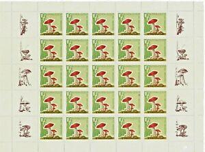 RRussia USSR 1964. Mushrooms. № Sol 3126А. MNH.