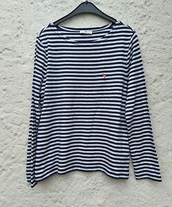 Peter Hahn Shirt, Blauweiß, Größe 42