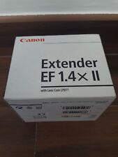Objetivo Canon Extender EF 1.4x II con funda Lente LP811