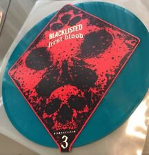 "Blacklisted First Blood Split7"" Blue/500 Converge Terror Dead mans hand hardcore"
