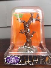 "Spooky Town Lemax Halloween Village ""Skeleton Tree"" Table Accent"