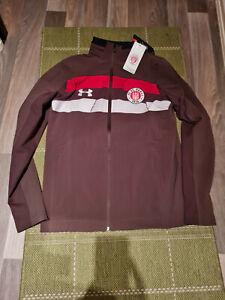 FC St.Pauli Under Armour Jacke NEU Stadium Jacket mit Kapuze