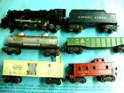 Lionel 2037 engine - tender and 4 cars