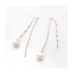 Jewelry Pierced Earrings   Pearl Yellow Gold 2201098