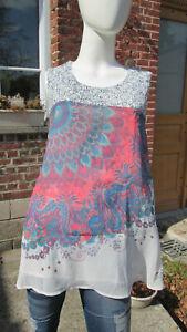 K blouse DESIGUAL TAILLE  xl et xxl  48V30321