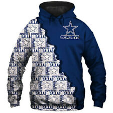Dallas Cowboys Fans Hoodie Hooded Sweatshirt Sports Coat Spring Jacket Gift