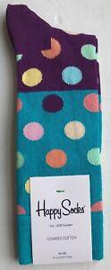 Happy Socks Men's Big Dot Block - UK7.5-11.5 / US8-12 / EU41-46 - BDB01-6001
