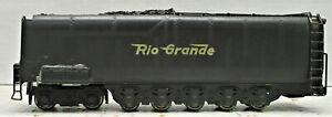 BRASS TENDER DENVER & RIO GRANDE #3805 HO SCALE