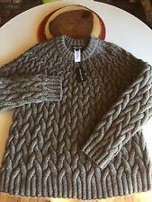 $595 NWT MICHAEL KORS Heavy YAK Crewneck pullover SWEATER Merino Wool XXL
