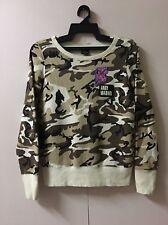ANDY WARHOL x UNIQLO 'Camouflage' SPRZ NY Art Sweatshirt Camo Women Small PATCH