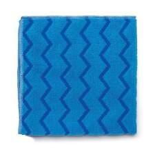 Rubbermaid HYGEN Microfibre Cloths Blue Pack GH 011