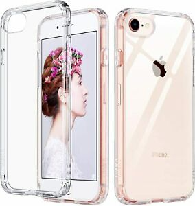 ULAK Slim Ultra Clear iPhone 8 Case, SE Case 2020, 7
